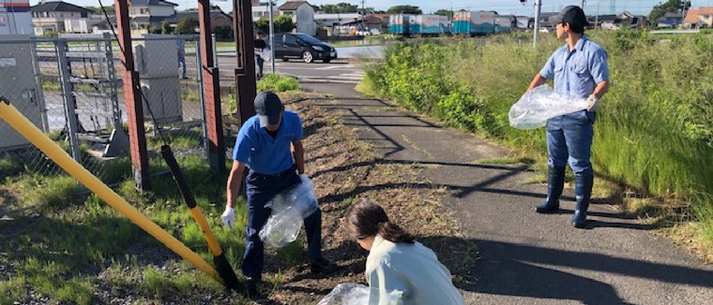 地域清掃活動のイメージ