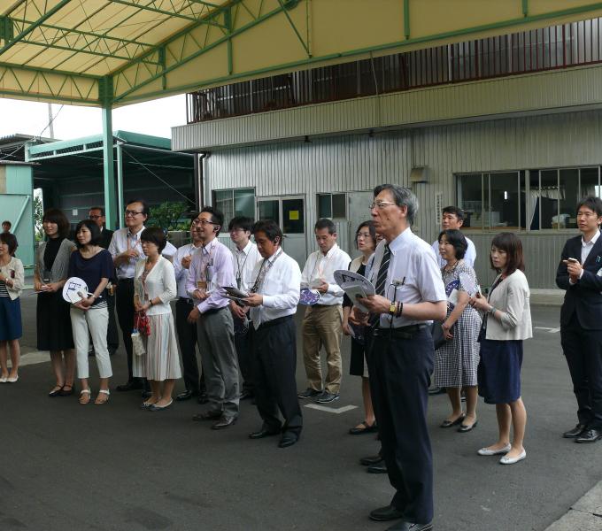 清穂会のバナナハウス栽培を見学のイメージ