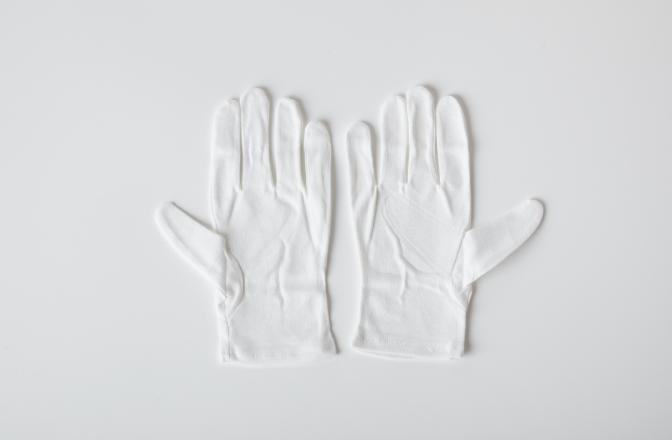 品質スムス手袋のイメージ
