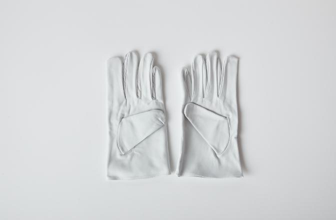 クレスト皮手袋のイメージ