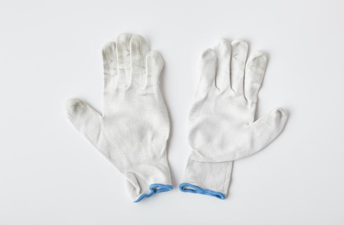 再生ウレタン手袋(リユース品)のイメージ