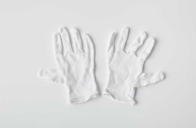 再生スムス手袋(リユース品)のイメージ